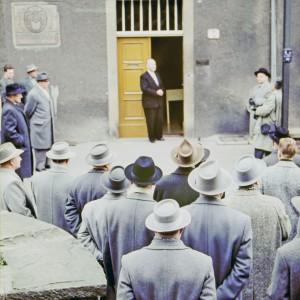Eröffnung der Heimatstube 1961 Bild 1