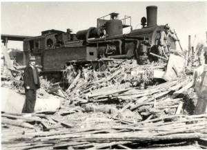 Fröndenberg, Zerstörung Bahnanlagen, Lokomotive BW Fröndenberg, Lokführer Julius Prünte, Heizer Naries.